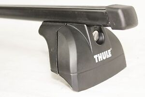 Complete Thule Square Bar Roof Rack W Fit Kit 4056 For