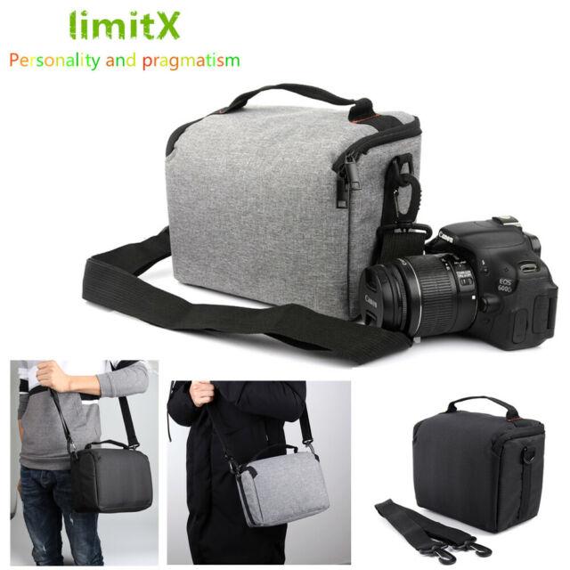 Lightweight Waterproof Messenger Sling Camera Case Bag for Pentax Olympus YI M1