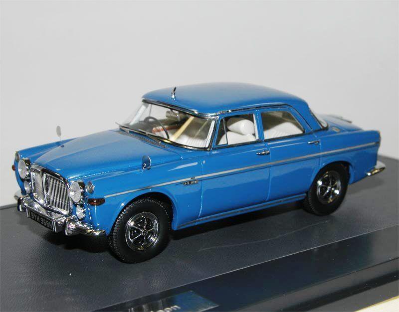 Matrix - modellen 1972 rover 3,5 liter p5b saloon blaue modell auto 1   43