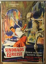SINDBADS 7. REISE | Original EA 1958 | Ray Harryhausen | 7TH VOYAGE OF SINBAD