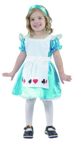 Le ragazze Storybook Alice nel Paese delle Meraviglie Fiaba Libro Settimana Costume