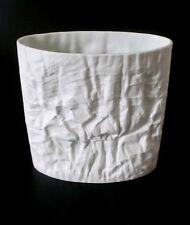 Rosenthal Martin Freyer jarrón bisquit porcelana h 23cm blanco porcelain annees 70