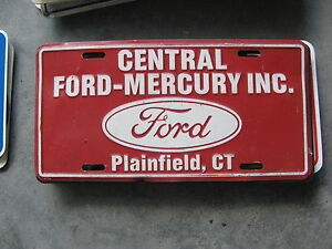 Image Is Loading Central Ford Mercury Plainfield Connecticut Ct Dealership Booster