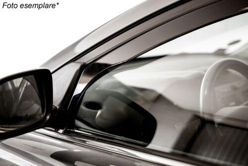 Deflettori D/'aria Antiturbo per Mercedes Classe E W211 4//5 porte 2002-2009 Heko