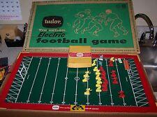 Tudor Tru Action Electric Football Game Original Box Excellent Working Condition