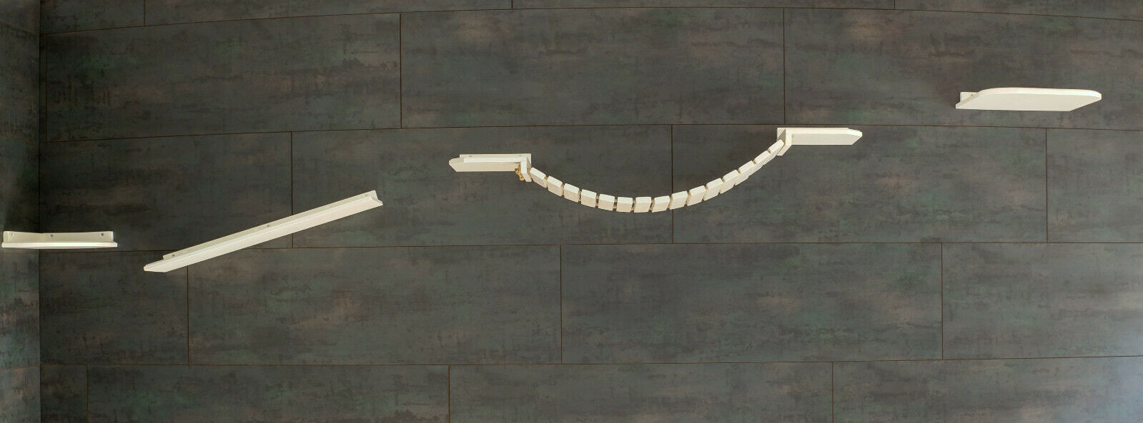 Gatti muro parete Park  gatti mobili, completamente Park OFFERTA OFFERTA OFFERTA  in bianco (23z) 3f3481