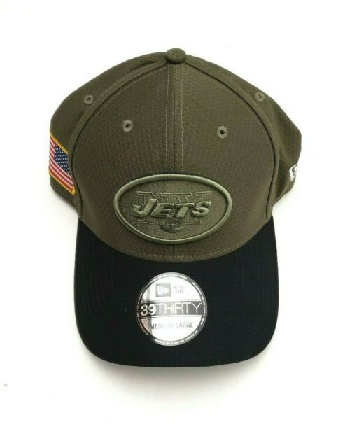 factory price 34d68 a0aca New Era 39Thirty NFL Salute to Service Flex Fitted Hat Olive Various  Teams Sizes for sale online