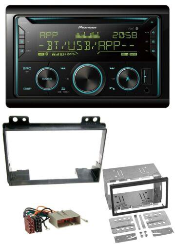 Pioneer Bluetooth 2DIN CD AUX USB MP3 Autoradio für Ford Fiesta 03-05 Fusion 02
