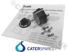 GENUINE DUALIT TOASTER TIMER CONTROL SWITCH INC KNOB SCREWS & WIRING GUIDE PARTS
