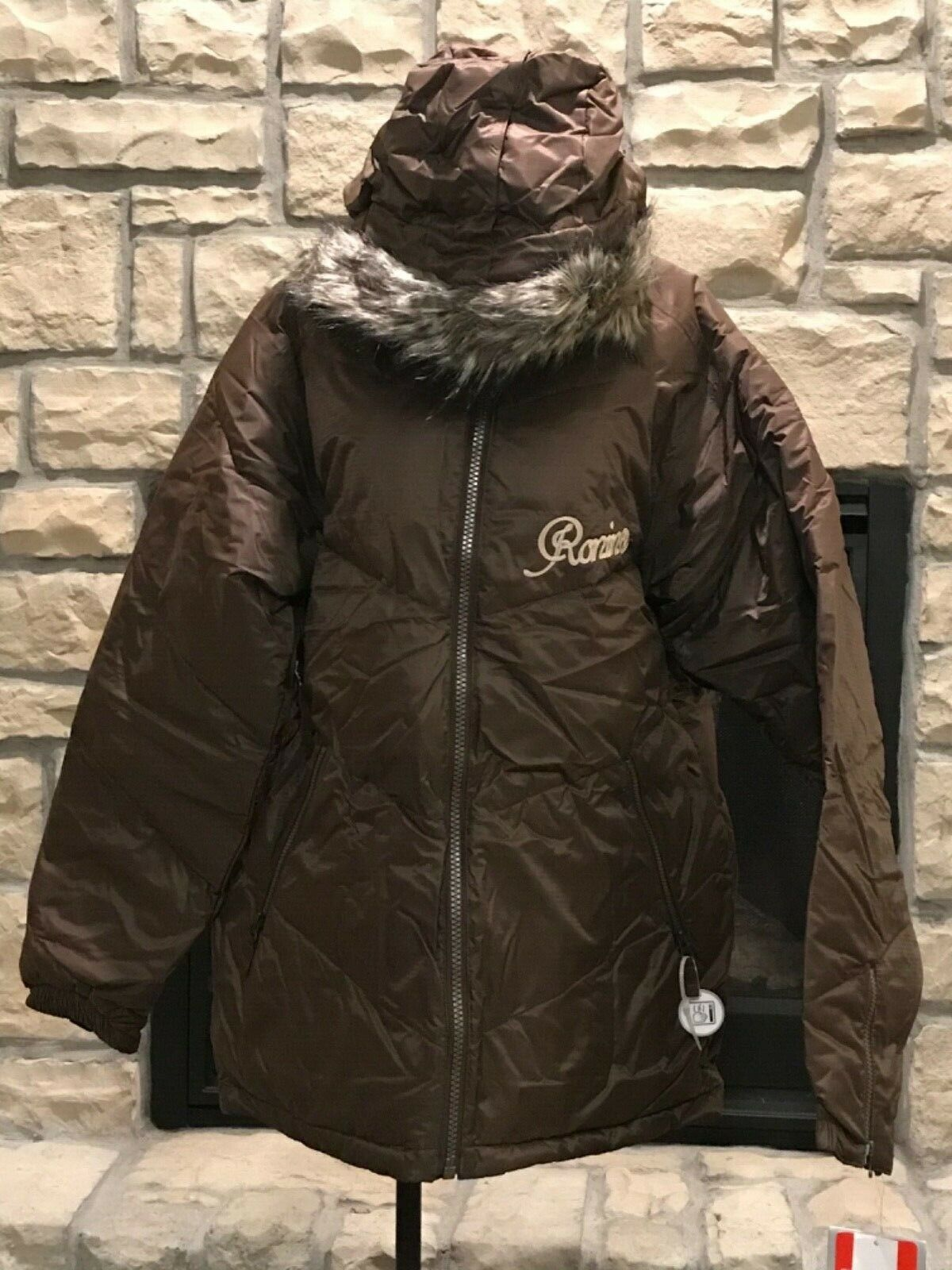 NEW Größe SMALL BURTON RONIN braun SNOWBOARD SKI JACKET WINTER COAT orig.  299.95
