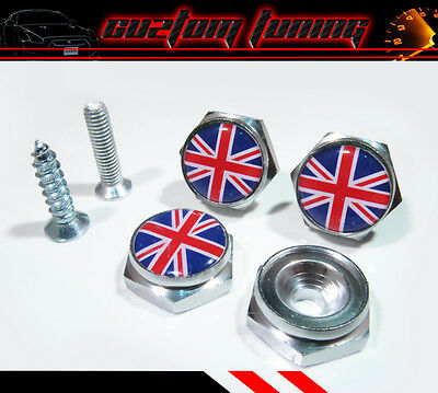 Black Jack UK Mini cooper S JCW R55 R56 R57 R60 countryman License Plate Bolts