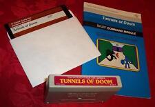TI-99/4A TI99 TUNNELS OF DOOM Module Cartridge Disk Set WORKING
