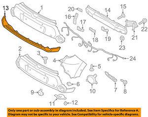 Genuine Kia Lower Cover 86612-B2530