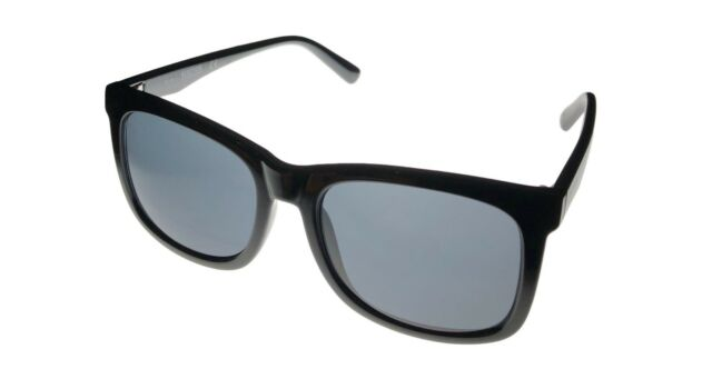 31c5dff8b1f Kenneth Cole Reaction Mens Soft Square Black Sunglass Kc1324 1a
