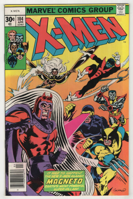 X-Men #104 (1977) [1st Appearance Starjammers] Magneto - Claremont, Cockrum /