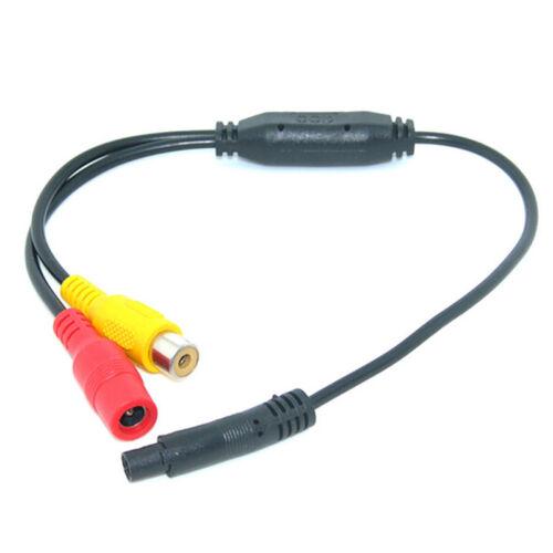 Auto-Videokabel RCA-4PIN für Rückfahrkamera schließen Sie denAuto-Monitor ZF