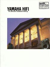Yamaha Katalog Prospekt DSP-1 CDX-5000 CDX-1120 MX-1000 CX-1000 AX-900 TX-1000