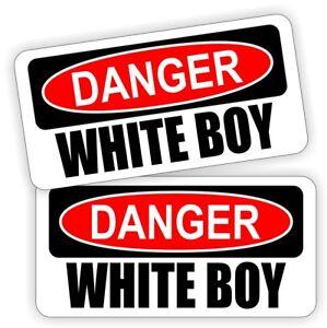 DIRTY WHITE BOY Funny Hard Hat Stickers Motorcycle Welding Helmet Decals Laborer