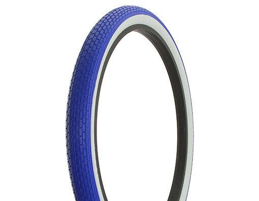 Original Duro 26  x 2.125  Heavy Duty Bicycle blueeE WHITE WALL Bike Tire