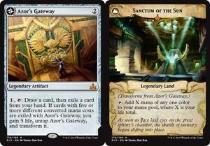 Azor's Gateway // Sanctum of the Sun x4 PL Magic the Gathering 4x Rivals mythic