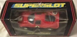 Superslot-Hornby-C-044-FERRARI-P4-Made-In-England-Rojo