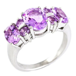 100-NATURAL-9X7MM-AMETHYST-RARE-DESIGN-AAA-STERLING-SILVER-925-RING-SIZE-7
