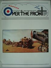 Over the Front Vol. 8 No. 1 Spring 1993 League of World War I Aviation Hist.