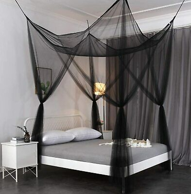 Bedding Octorose Four Poster Or Ceiling, Queen Size Bed Hanging Canopy