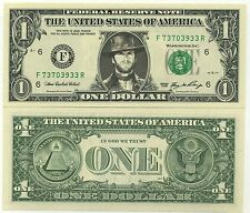 CLINT EASTWOOD VRAI BILLET 1 DOLLAR US ! Collection Western Epoque Sergio Leone