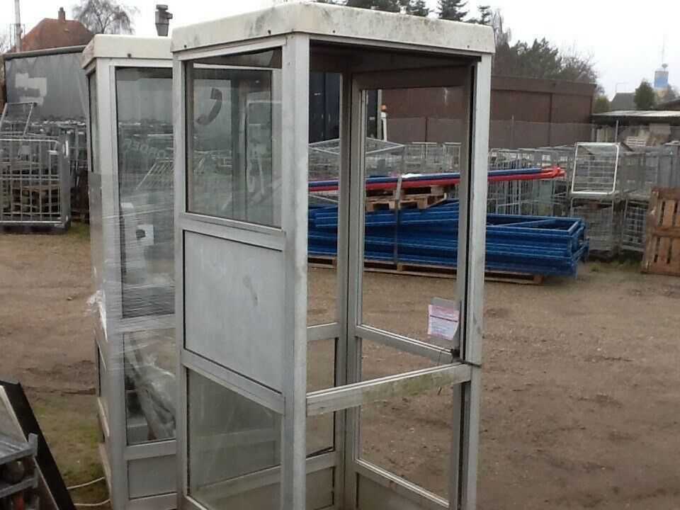Telefonboks aluminium - uden glas