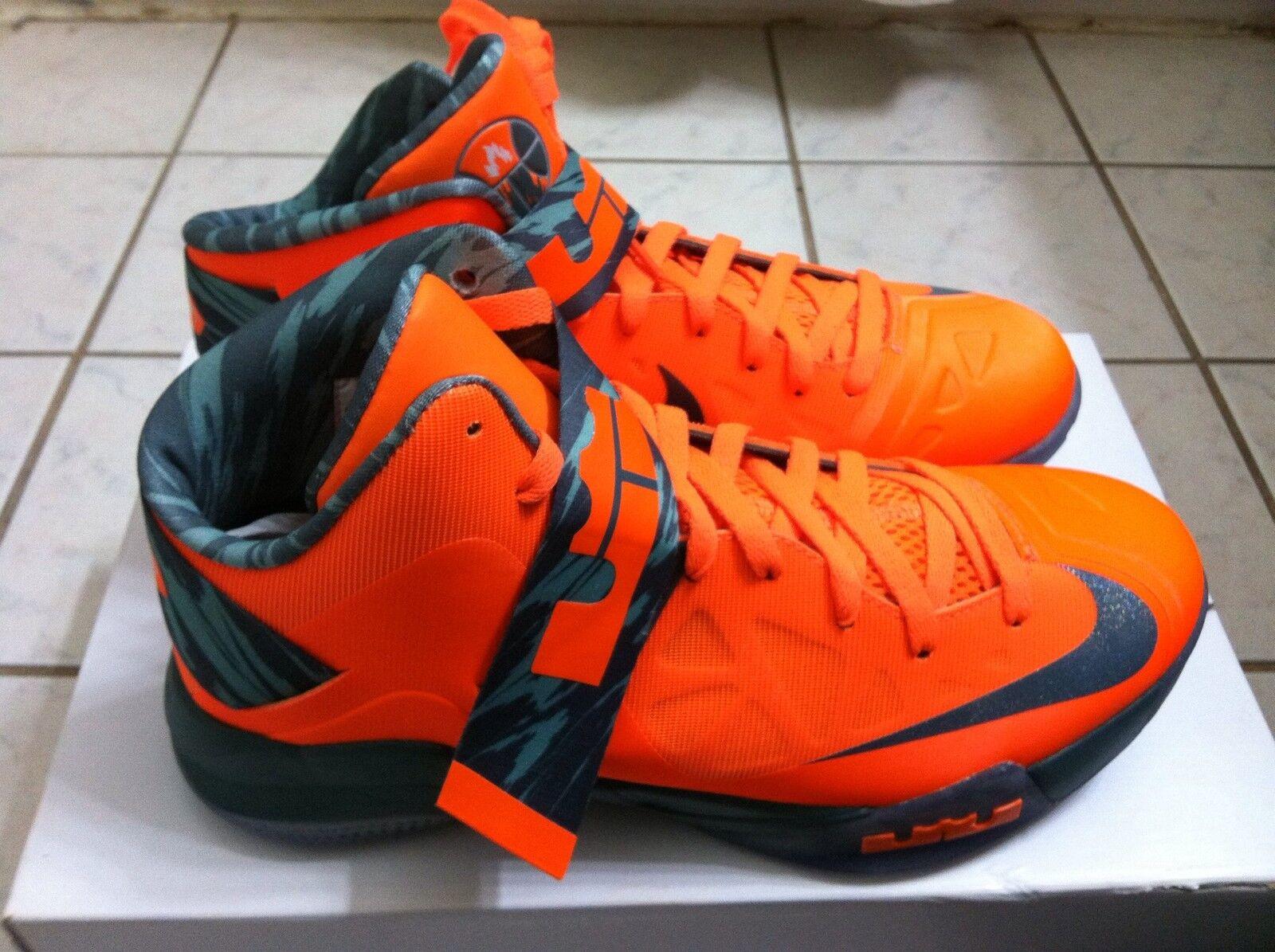 best sneakers ffe92 e1ec6 Raros  Nike Zoom Soldier vi. LeBron James zapatos zapatos zapatos hombres  SZ9.Nunca