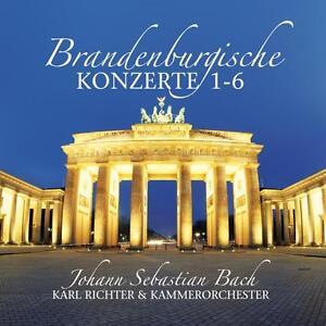 CD-Brandenburgische-Konzerte-1-6-von-Bach-2CDs-mit-Karl-Richter-und-Kammerorche