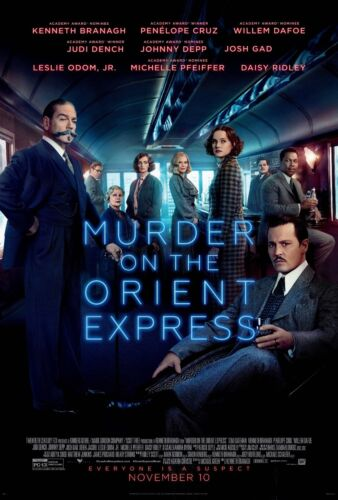 MURDER ON THE ORIENT EXPRESS POSTER A4 A3 A2 A1 CINEMA MOVIE LARGE FORMAT #2
