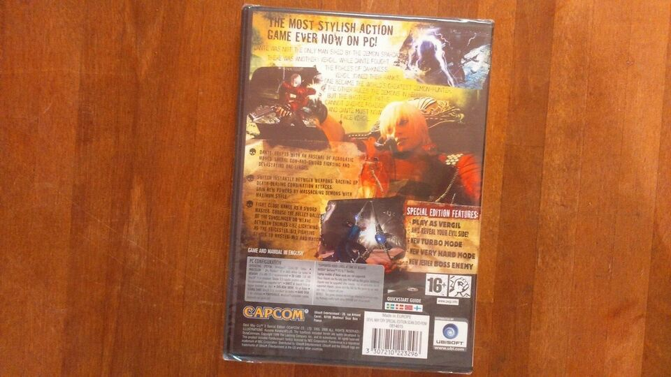 Devil May Cry 3, PC