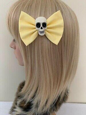 Eyeball headband hair bow rockabilly pin up punk zombie gothic psychobilly eye