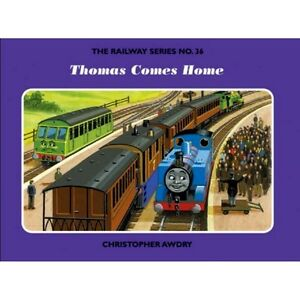 Details about SIGNED The Railway Series No 36: Thomas Comes Home by  Christopher Awdry New H/B