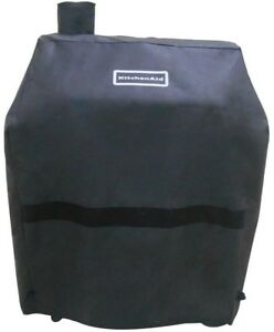 Image Is Loading Kitchenaid Cart Style Charcoal Grill Cover Full Length