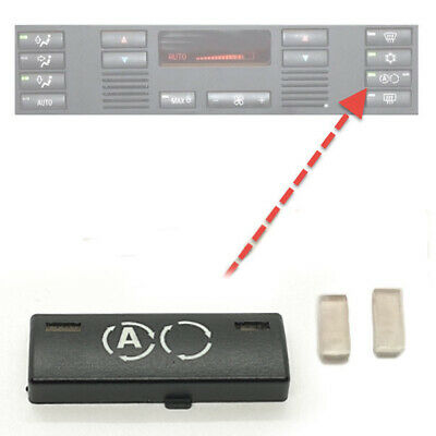 1x für BMW 5er E39 X5 E53 Klimabedienteil Lüftung Schalter Kalt Taste