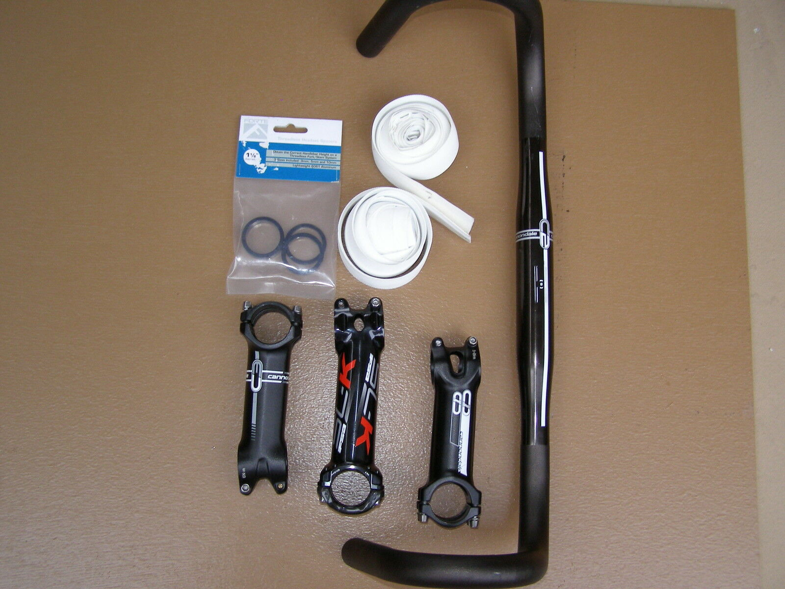 Cannondale and FSA Stem and Handlebar