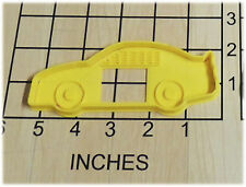 Race Car Shaped Cookie Cutter and Stamp fits with NASCAR theme #1190
