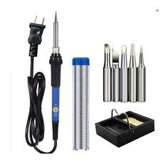 60W Electric Soldering Solder Iron Kit Adjustable Temperature Welding Tool Set