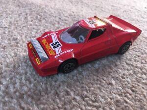 Burago Lancia Stratos Car - No.55 Monroe Dunlop - Scale 1:43