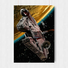 Star Wars Movie Millennium Falcon Death Star Giant Poster A0 A1 A2 A3 A4 Sizes