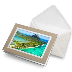 Greetings-Card-Biege-Mauritius-Tropical-Beach-Paradise-16659
