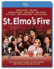 ST ELMO'S FIRE (1985 Rob Lowe)  -  BLU RAY - Sealed Region free
