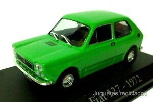 FIAT SEAT 127 1972 IXO RBA COCHE  ESCALA 1/43 DIECAST