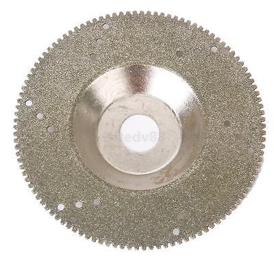 100mm Diamond Coated Cutting Disc Saw Blade Cut Off Wheel 80 Grit New