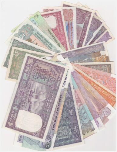 Wonderful Collection Of Old Currencies Of India 23 Different Patterns  BUNC Set