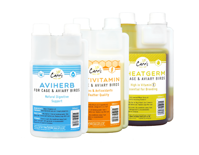 Multivitamin And Wheat Germ Oil Vivid And Great In Style Aviherb Modest Carr's Cage And Aviary Breeding Pack