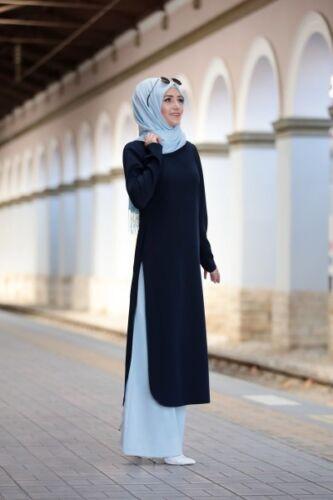 Hijab Zweiteiliges Outfit-Tunika/& Hose S-947 Tesettür Ikili Takim